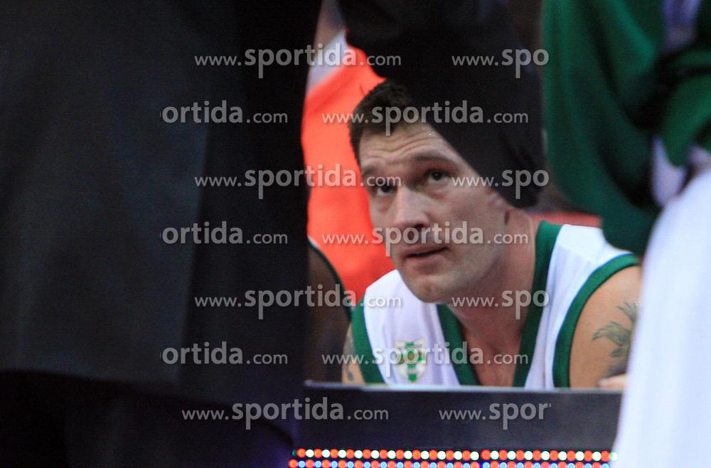 Marko Tusek (17)  at Euroleague match between KK Cibona and Air Avellino, on November 26, 2008, in Cibona Tower, Zagreb, Croatia. Match was won by Cibona 82:79. (Photo by Vid Ponikvar / Sportida)