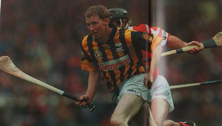 Kilkenny's John Power in the 1999 All-Ireland final.