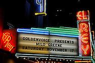 © 2012 Rafael Agustin Delgado ..Milo Greene @ El Rey ..Nov. 17th 2012 ..