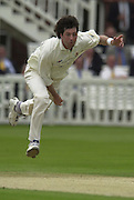 .Sport - Cricket - 22/06/02.Photo Peter Spurrier.Benson & Hedges - Final Lords Essex vs Warwickshire.Ronnie Irani bowling. [Mandatory Credit: Peter Spurrier:Intersport Images]