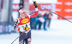 17.12.2016, Nordische Arena, Ramsau, AUT, FIS Weltcup Nordische Kombination, Langlauf, im Bild David Pommer (AUT) // David Pommer of Austria during Cross Country Competition of FIS Nordic Combined World Cup, at the Nordic Arena in Ramsau, Austria on 2016/12/17. EXPA Pictures © 2016, PhotoCredit: EXPA/ JFK