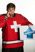 31.07.2013; Wetzikon; Eishockey - Portrait Nationalmannschaft; Reto Berra (Valeriano Di Domenico/freshfocus)