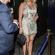 Tallia Storm arrives at Tramp Members Club 40 Jermyn Street, on 23 May 2019, London, UK.