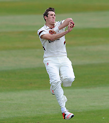 Somerset's Craig Overton. - Photo mandatory by-line: Harry Trump/JMP - Mobile: 07966 386802 - 05/07/15 - SPORT - CRICKET - LVCC - County Championship Division One - Somerset v Sussex- The County Ground, Taunton, England.