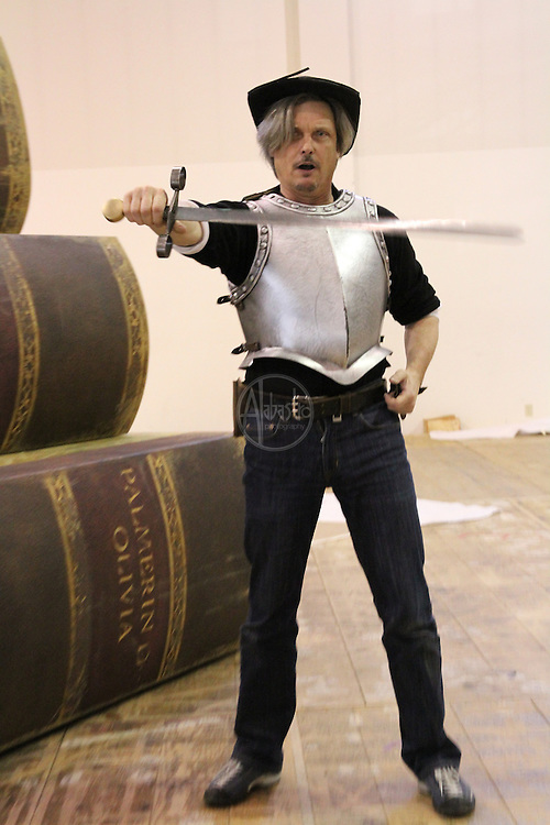 Rehearsals for Seattle Opera's production of Don Quixote, Feburary 2011.