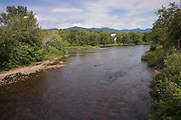 Confluence of Nulhegan River with Connecticut River, Bloomfield, VT