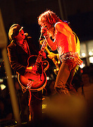 David Johansen & Sylvain Sylvain, New York Dolls at South St. Seaport, NYC 2006