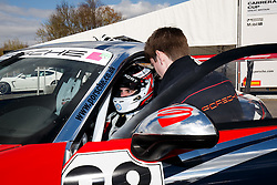 Dino Zamparelli | Bristol Sport Racing | #88 Porsche 911 GT3 Cup car | Porsche Carrera Cup GB | Race 3 - Photo mandatory by-line: Rogan Thomson/JMP - 07966 386802 - 04/04/2015 - SPORT - MOTORSPORT - Fawkham, England - Brands Hatch Circuit - British Touring Car Championship Meeting Day 2.