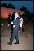 JOHAN ELIASCH, 2014 Serpentine's summer party sponsored by Brioni.with a pavilion designed this year by Chilean architect Smiljan Radic  Kensington Gdns. London. 1July 2014