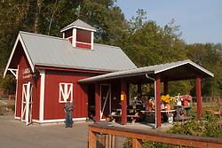 United States, Washington, Bellevue, produce stand at Lake Hills Park
