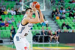 Vlatko Cancar of Slovenia during basketball match between Slovenia and Belarus in Round #1 of FIBA Basketball World Cup 2019 European Qualifiers, on November 24, Arena Stozice, Ljubljana, Slovenia. Photo By Ziga Zupan / Sportida