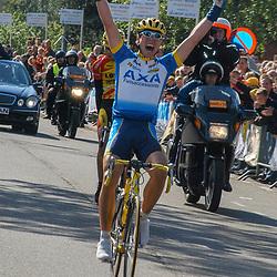 Ronde van Overijssel 2003 Alain van Katwijk wint de ronde van Overijssel