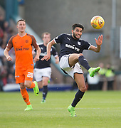 August 9th 2017, Dens Park, Dundee, Scotland; Scottish League Cup Second Round; Dundee versus Dundee United; Dundee's Faissal El Bakhtaoui