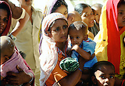 Woman and child at Save the Children Fund Hospital,  Bangladesh.