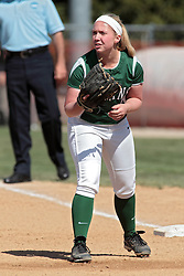 09 May 2014: Chloe Montgomery during an NCAA Division III women's softball championship series game between the Lake Forest Foresters and the Illinois Wesleyan Titans in Bloomington IL