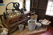 Old laundry equipment, Museum of East Anglian Life, Stowmarket, Suffolk