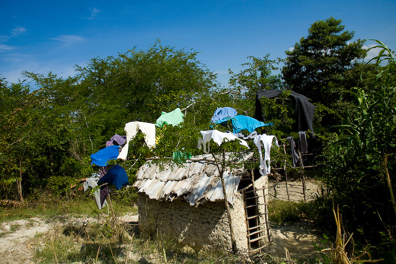 Central Plateau, Haiti.  11/23/09 Photo by Ben Depp
