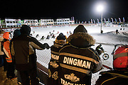 EAGLE RIVER, WI-JAN. 15, 2016: Friday Night Thunder at The AMSOIL Snowmobile World Championships in Eagle River, WI, Friday, Jan. 15. Eagle River is the Snowmobile Capital of the World. Lauren Justice for The New York Times