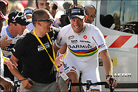 Sykkel<br /> Tour de France 2011<br /> 03.07.2011<br /> Foto: PhotoNews/Digitalsport<br /> NORWAY ONLY<br /> <br /> 2nd stage / ploegentijdrit / contre-la-montre par equipe / team time-trial / Les Essart / <br /> Team Cervelo - HUSHOVD Thor (TEAM GARMIN - CERVELO - NOR)<br /> <br /> THOR HUSHOVD (TEAM GARMIN - CERVELO - NOR)