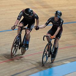 29-12-2019: Wielrennen: NK Baan: Alkmaar<br /> Roy Eefting, Ryan Schilt pakken brons