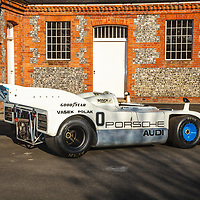 Porsche 917/10-018 (1973) Jody Scheckter, photographed at Laverstoke House, Overton, UK, 2017
