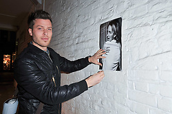 TV presenter RICK EDWARDS at the launch party for Club Monaco at Browns, 32 South Molton Street, London on 16th February 2011.