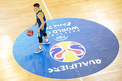 Matic Rebec of Slovenia during basketball match between National teams of Slovenia and Turkey in Round #8 of FIBA Basketball World Cup 2019 European Qualifiers, on September 17, 2018 in Arena Stozice, Ljubljana, Slovenia. Photo by Urban Urbanc / Sportida