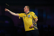 Dave Chisnall during the World Darts Championships 2018 at Alexandra Palace, London, United Kingdom on 29 December 2018.