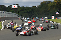 HSCC Gold Cup Oulton Park, Cheshire, United Kingdom.  28th-29th August 2011.  Race 4 HSCC Classic Racing Cars. Supported by Cubicle Centre Ltd. 26 Steve Seaman Brabham BT21. World Copyright: Peter Taylor/PSP. Copy of publication required for printed pictures. Every used picture is fee-liable.