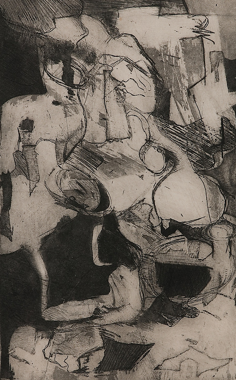 UNTITLED, etching 1963