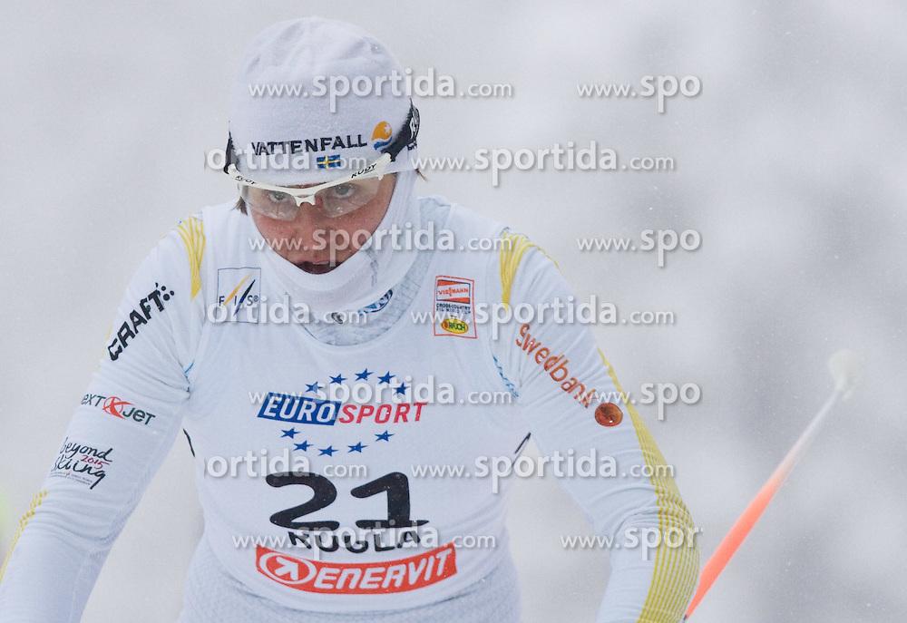 Ida Ingemarsdotter of Sweden at Ladies 1.4 km Free Sprint Competition of Viessmann Cross Country FIS World Cup Rogla 2009, on December 19, 2009, in Rogla, Slovenia. (Photo by Vid Ponikvar / Sportida)