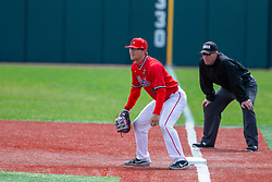NORMAL, IL - April 08: Jack Butler & Kirk Hacker during a college baseball game between the ISU Redbirds  and the Missouri State Bears on April 08 2019 at Duffy Bass Field in Normal, IL. (Photo by Alan Look)