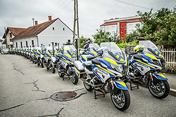 Police during 1st Stage of 25th Tour de Slovenie 2018 cycling race between Lendava and Murska Sobota (159 km), on June 13, 2018 in  Slovenia. Photo by Vid Ponikvar / Sportida
