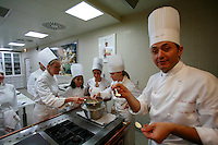 Short course at the Ritz Cooking School, Paris - Photo by Owen Franken
