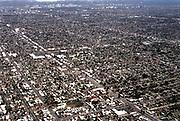 Ariel shot of Los Angeles, California, 2000's