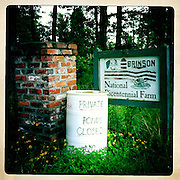 The Brinson Family's bicentennial farm in Millen, Georgia. Seen May 2012