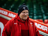 Kicking Coach Neil Jenkins of Wales<br /> <br /> Photographer Simon King/Replay Images<br /> <br /> Six Nations Round 5 - Wales v Ireland Captains Run - Saturday 15th March 2019 - Principality Stadium - Cardiff<br /> <br /> World Copyright © Replay Images . All rights reserved. info@replayimages.co.uk - http://replayimages.co.uk