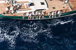 France Saint - Tropez October 2013, Wally Class racing at the Voiles de Saint - Tropez