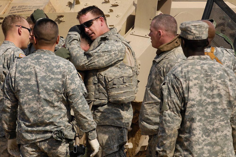 U.S. Army, Charlie Medical Company, 215th Brigade Support Battalion, Forward Operating Base Warhorse, Iraq, on Feb. 9, 2007.