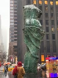 Jim Dine Sculpture in New York City