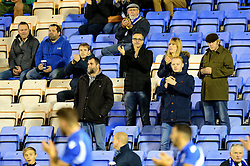 Wael Al-Qadi president of Bristol Rovers FC sits amongst the away fans as Shrewsbury Town play Bristol Rovers at Greenhous Meadow - Mandatory by-line: Dougie Allward/JMP - 17/10/2017 - FOOTBALL - Greenhous Meadow - Shrewsbury, England - Shrewsbury Town v Bristol Rovers - Sky Bet League One