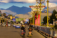 Beijing MIddle Road, Lhasa, Tibet (Xizang), China.