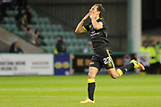 23 Rafa De-Vita celebrates scoring goal during the Betfred Scottish Cup match between Hibernian and Livingston at Easter Road, Edinburgh, Scotland on 19 September 2017. Photo by Kevin Murray.