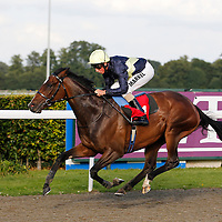 Gallipot and William Buick winning the 6.30 race