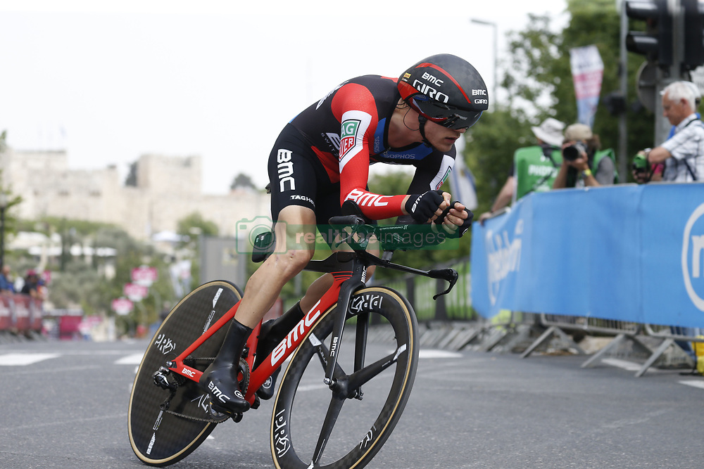 May 4, 2018 - Jerusalem, ISRAEL - Belgian Loic Vliegen of BMC Racing Team pictured in action during the first stage of the 101st edition of the Giro D'Italia cycling tour, an individual time trial (9,7km) in Jerusalem, Israel, Friday 04 May 2018...BELGA PHOTO YUZURU SUNADA FRANCE OUT (Credit Image: © Yuzuru Sunada/Belga via ZUMA Press)
