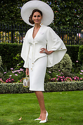 Ascot, UK. 20 June, 2019. Designer Isabell Kristensen attends Ladies Day at Royal Ascot.