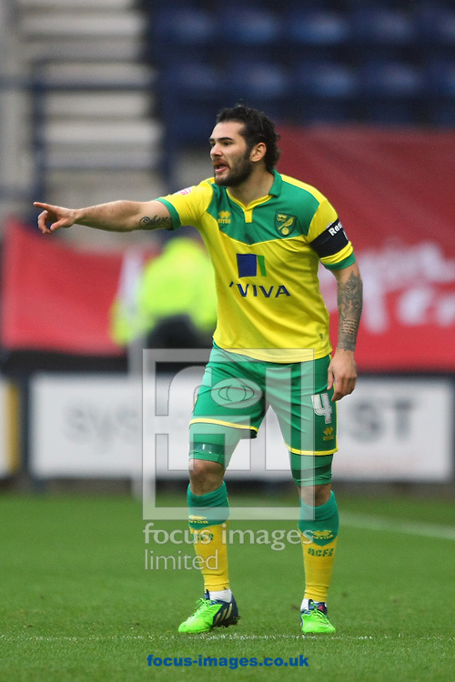 Bradley Johnson of Norwich during the FA Cup match at Deepdale, Preston<br /> Picture by Paul Chesterton/Focus Images Ltd +44 7904 640267<br /> 03/01/2015