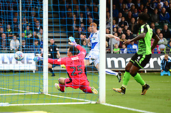 Rory Gaffney of Bristol Rovers takes a shot at goal - Mandatory by-line: Dougie Allward/JMP - 30/09/2017 - FOOTBALL - Memorial Stadium - Bristol, England - Bristol Rovers v Plymouth Argyle - Sky Bet League One