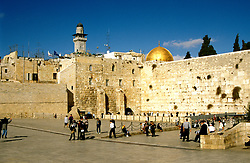 Israel: Old Jerusalem, Western Wall, or Wailing Wall, Jewish prayers. photo: israel104 .Photo copyright Lee Foster, www.fostertravel.com, 510/549-2202, lee@fostertravel.com
