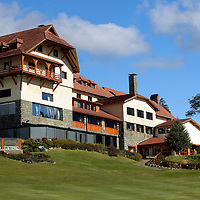 South America, Argentina, Bariloche. Llao Llao Resort & surroundings.